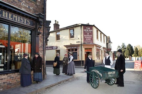 Telford OR Blists Hill Victorian Town Express