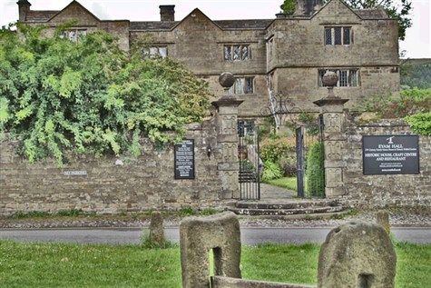 Eyam: The Plague village with Eyam Hall & Craft Ce