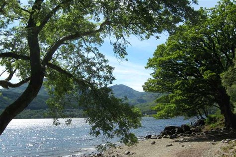 Summer in a Castle, Loch Lomond & New Borders Rail