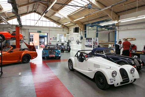 Ledbury & the Morgan Motor Factory Tour