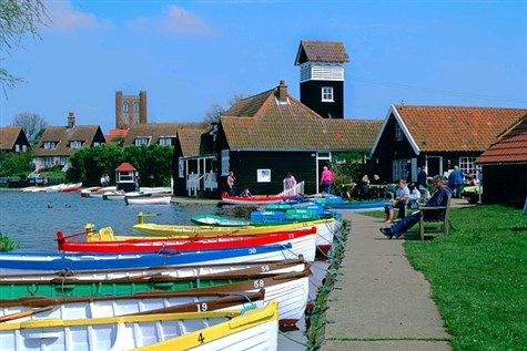 Suffolk's Tranquil Villages & Coast